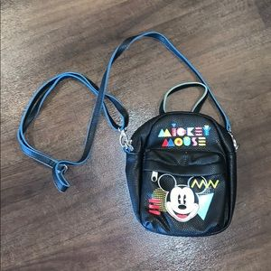 Mickey Mouse mini backpack purse